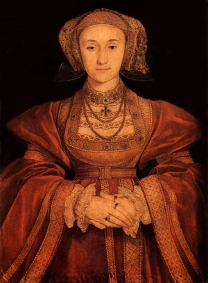 Hans Holbein the Younger: Anne of Cleves. 1539.