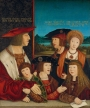 Maximilian I and his Family, by Bernhard Strigel (1460-1528). c. 1515.