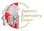 Logo of the Japanese Embroidery Center, Georgia, USA.
