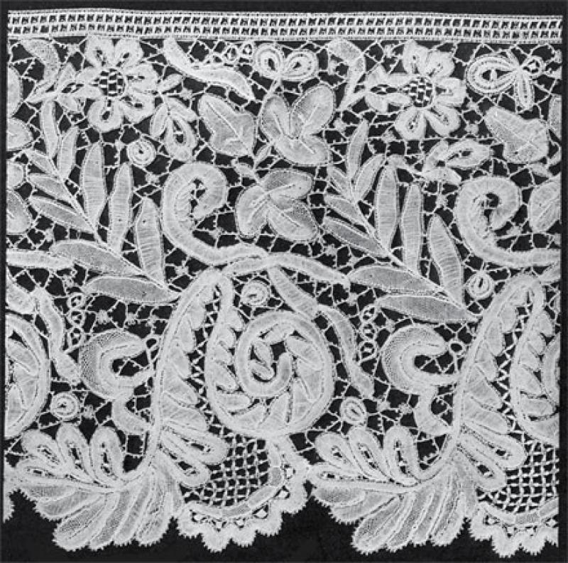 Honiton Lace Making 19th Century Honiton Lace