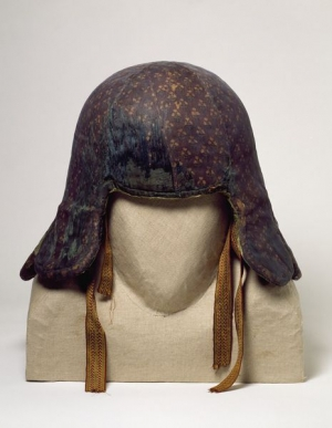 Quilted war helmet of Tipu Sultan, India, late 18th century