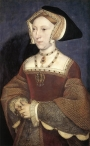 Portrait of Jane Seymour, 1536/7, by Hans Holbein the Younger (1497-1543).