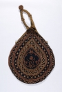 Embroidered betel bag from Sri Lanka, late 19th century.