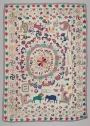 Kantha by Srimirthi (Mrs.) Lokhibala Dashi, early 20th century, West Bengal, India.