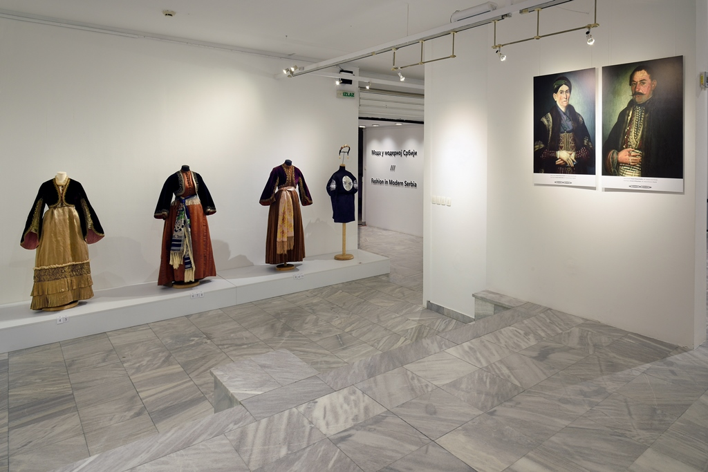 "The exhibition ""Fashion in Modern Serbia"", Museum of Applied Art, Belgrade, Serbia; photo: Museum of Applied Art, Belgrade / Veselin Milunović"