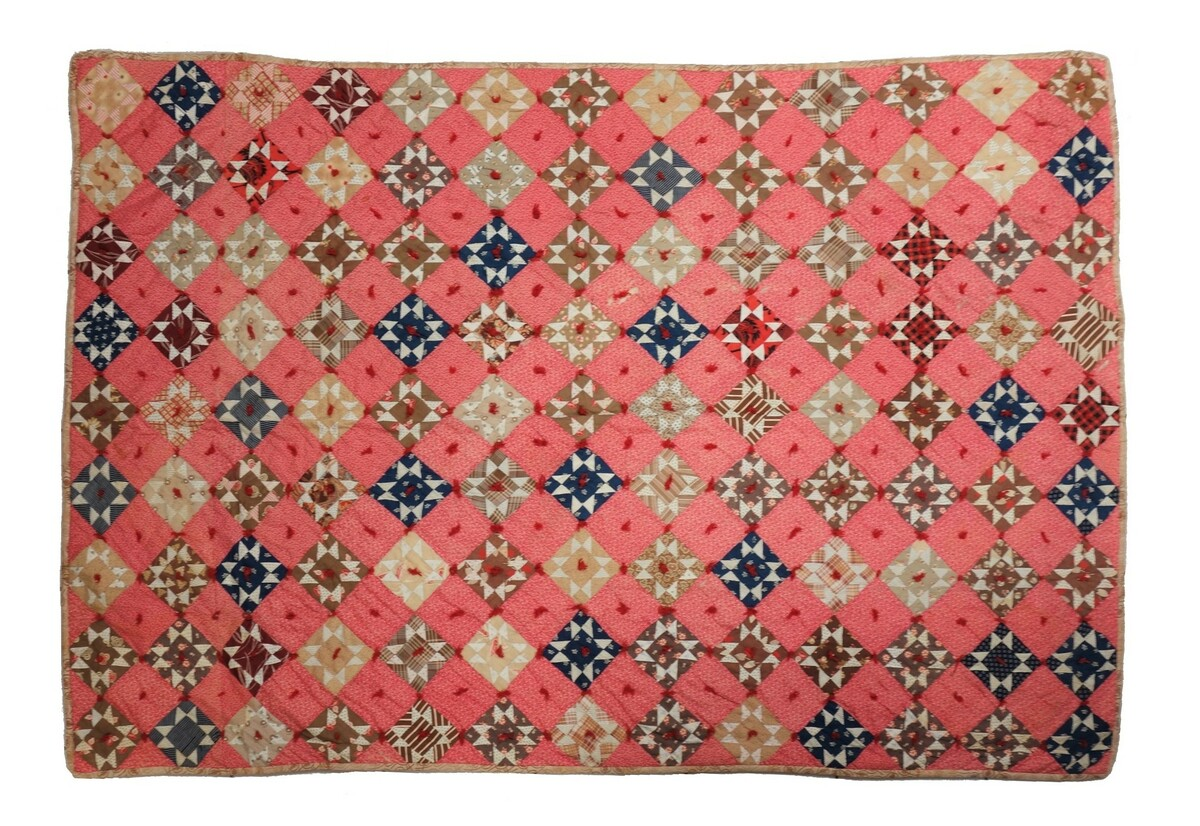 Late 19th century American quilt from the TRC Collection (TRC 2018.2378).