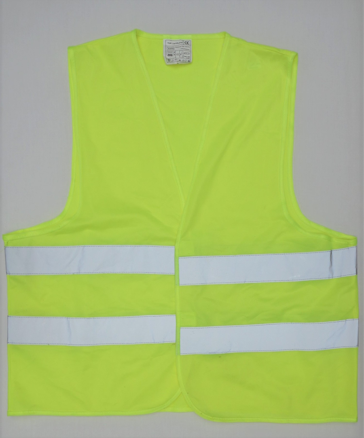 A gilet jaune, or yellow jacket, from France, the symbol of anti-government protests (TRC 2019.0005