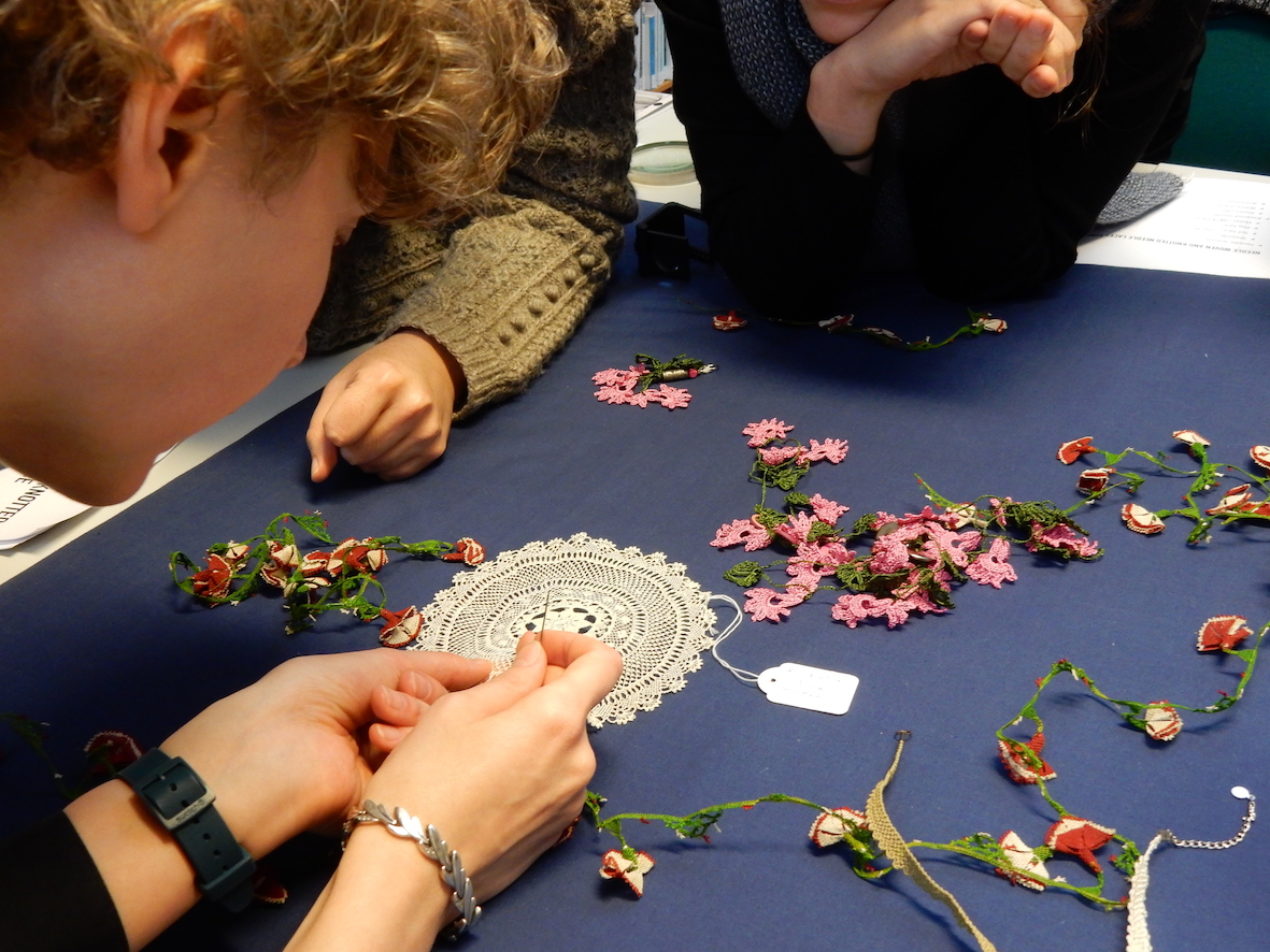 TRC weekend lace workshop, 4-5 November 2017