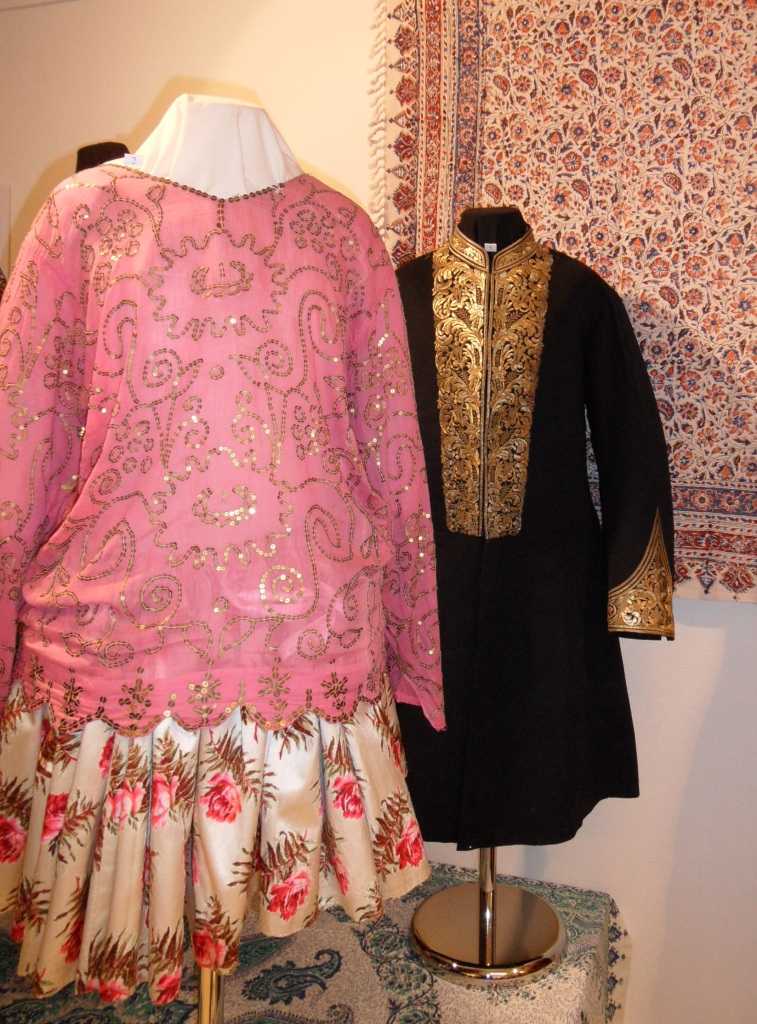 "Late 19th century Iranian dress. TRC exhibition ""Beyond the Chador"", January-August 2013."