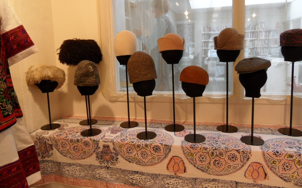 "Iranian hats. TRC exhibition ""Beyond the Chador"", January-August 2013."