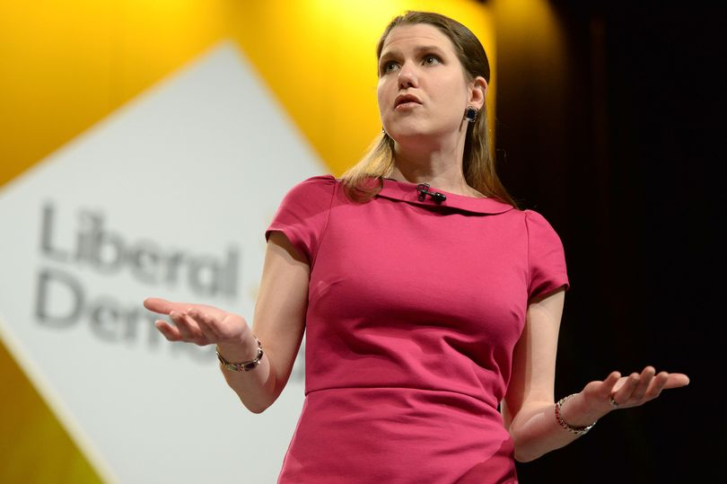 Jo Swinson, leader of the liberal-democrats in Britain.